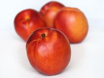 Peaches. Fresh sweet peaches in right season Stock Images