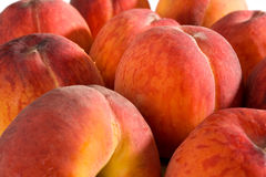 Peaches. Extreme close-up image of peaches, good as background image Stock Photo