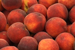 Peaches. A background of the peaches Stock Photo