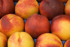Peaches. A bunch of peaches - for background use Stock Image