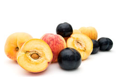 Free Peaches And Plums. Royalty Free Stock Images - 10783019