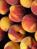 Peaches Background Fotos de archivo