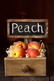 Peaches. Stock Images