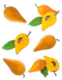 Peaches collection Royalty Free Stock Photography