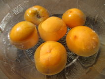 Peaches. royalty free stock images
