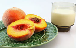Peaches and Cream Royalty Free Stock Photos