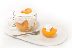 Peaches and Cream Royalty Free Stock Images