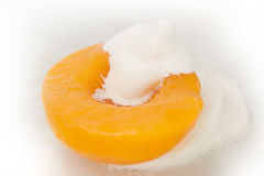 Peaches & Cream Stock Photo
