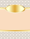 Peaches and Cream Stationery Royalty Free Stock Photography