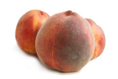 Peaches. Delicious Fruits Royalty Free Stock Image