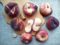 Peaches figs Stock Photos
