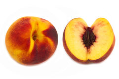 Peaches isolated Royalty Free Stock Photography