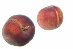 Peaches isolated Royalty Free Stock Photos