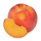 Peaches isolated Stock Photos