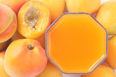 Peaches juice. Stock Image