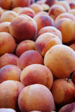 Peaches at the market Stock Photography