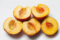 Peaches Olympics Royalty Free Stock Images