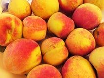 Peaches Almost Ready stock photos
