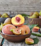 Peaches Stock Photos