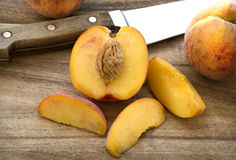 Peaches are in Season! Stock Photography