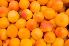 Peaches in the window Stock Photo