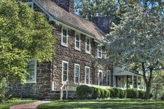 Peachflield Plantation in HDR. Peachfield Plantation located in Mt Holly, NJ Stock Photos