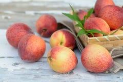 Peachs frescos Imagen de archivo