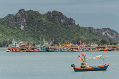 Peachuapkhirikhan bay Thailand Royalty Free Stock Photos