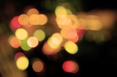 Peachy lights Royalty Free Stock Images