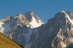 Peacks of Pamir royalty free stock image