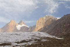 Peacks of Pamir Royalty Free Stock Images