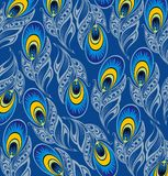 Peacock background Stock Images