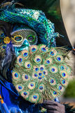 Peacock Fan Royalty Free Stock Photo