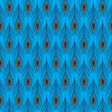 Peacock Feather Pattern Royalty Free Stock Photos