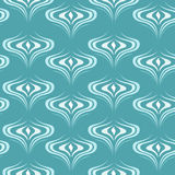 Peacock feather pattern. Abstract vector seamless pattern with feathers of a peacock Stock Photos