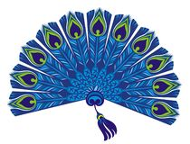 Free Peacock Feathers. Carnival. Beautiful Exotic Peacock Pattern Stock Photo - 159284880
