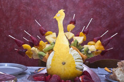 Peacock fruit Stock Photography