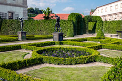 Peacock gardens of Wallenstein Palace Royalty Free Stock Image