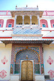 Peacock Gate in Jaipur City Palace, India Royalty Free Stock Images