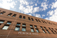 Peacock Hall at ASU Stock Image