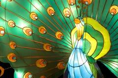 Peacock Lantern Stock Image