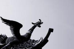 Peacock sculpture Stock Photo