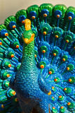 Peacock Statue. Royalty Free Stock Image