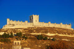 Peñafiel Castle Royalty Free Stock Image
