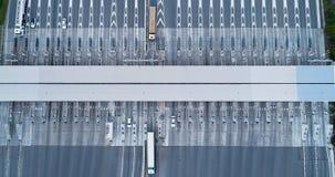 Peaje en una carretera Imagen de archivo