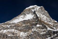 Peak43或Kyashar在Mera地区,喜马拉雅山山脉,尼泊尔 库存照片