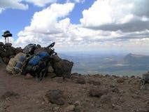 The Peak. Humphreys Peak in AZ royalty free stock photo