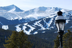Peak 7, Breckenridge Ski Resort Stock Image