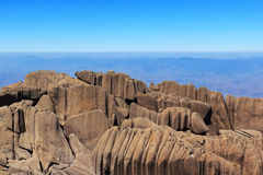 Peak Agulhas Negras (black needles) mountain, park Itatiaia,  Br Stock Image