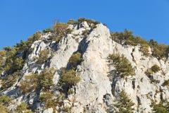 Peak of Ai Nikola mount, Crimea Royalty Free Stock Photo